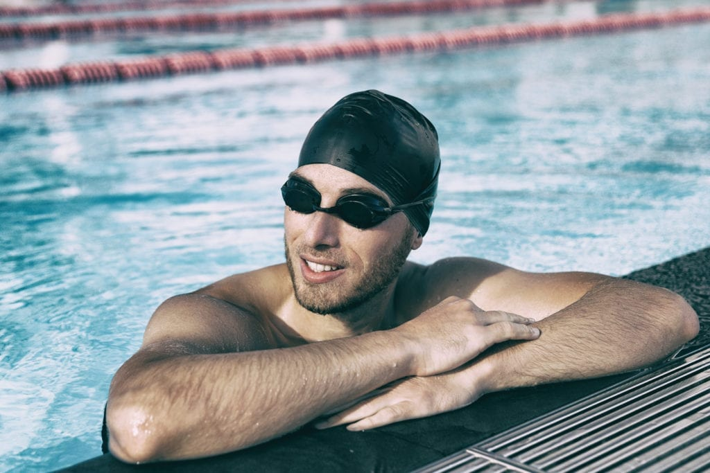 swim goggles for eye protection