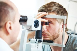 detached retina is common for vision problems in harrisburg il
